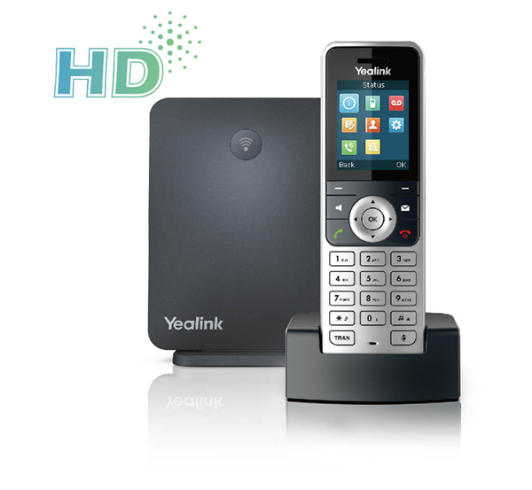 Yealink W53P Cordless IP Phone with Base Station 1