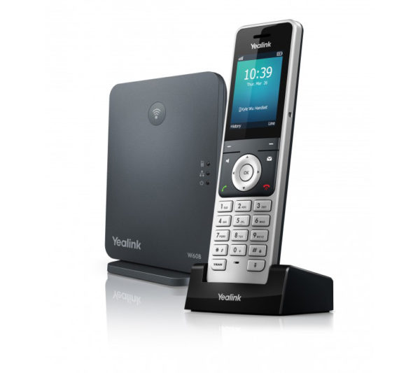 Yealink W60P Cordless IP Phone with Base Station 1